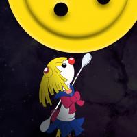 Following Mr Spoon by moonlight…